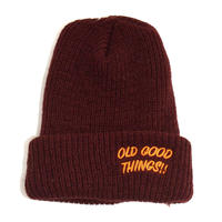 OldGoodThings (O.G.T ORIGINAL WATCH CAP) BURGUNDY
