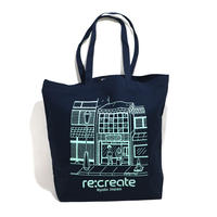 re:create TOTE BAG L SIZE (Comfort Zone) NAVY