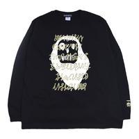OILWORKS L/S T-SHIRTS (ねおじゃぱ) BLACK