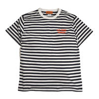 OldGoodThings S/S BORDER T-SHIRTS (GOOD PLAYER) WHITE / NAVY