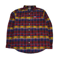COLUMBIA L/S CHECK SHIRTS (BOULDER RIDGE) RED