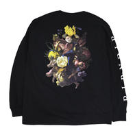 RIPNDIP L/S T-SHIRTS (HEAVENLY BODIES) BLACK
