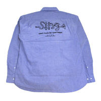 OldGoodThings L/S OX SHIRTS (SING LIMITED) LIGHT BLUE