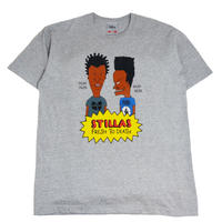 STILLAS S/S T-SHIRTS (BLACK B&B) H.GREY