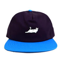 RIPNDIP (6PANEL CAP) PURPLE / L.BLUE