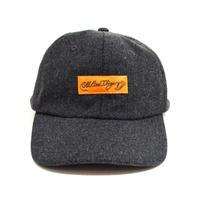 OldGoodThings 6PANEL WOOL CAP (O.G.T ORIGINAL LABEL) CHARCOAL