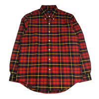 POLO RALPH LAUREN L/S CHECK SHIRTS (CLASSIC FIT) RED