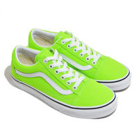 VANS (OLD SKOOL) NEON GREEN/WHITE
