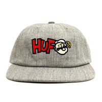 HUF 6PANEL CAP (POPEYE & HUF) GREY