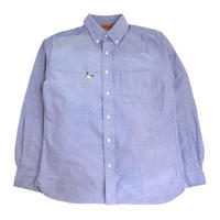 OldGoodThings L/S OX SHIRTS (RIVER SIDE) L.BLUE