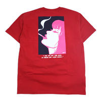 HUF S/S T-SHIRTS (I FEEL GOOD) RED