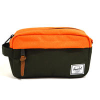 HERSCHEL TRAVEL POUCH (CHAPTER CARRY ON) FOREST / ORANGE