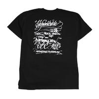 HUF S/S T-SHIRTS (HARRY) BLACK