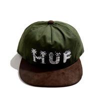 HUF SNAPBACK (STEVEN HARRINTON × HUF) OLIVE/BROWN