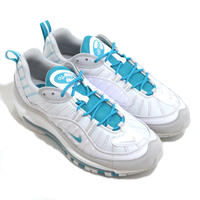 NIKE (AIR MAX 98) WHITE/TEAL NEBULA