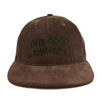 OldGoodThings 6PANEL CORDUROY CAP (GOOD PLAYER) D.BROWN
