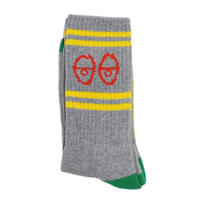 KROOKED SOCKS (EYES SOCKS) GREY