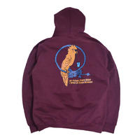 OldGoodThings SWEAT HOODIE (FUTURE) BURGUNDY