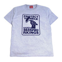 5656WORKINGS S/S T-SHIRTS (NO.56 BOX) ASH GREY