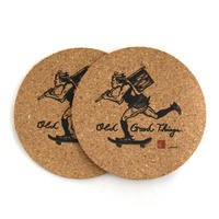 O.G.T CORK COASTER (OLD&NEW) 2個セット