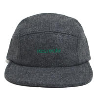 re:create MELTON WOOL CAP (PLAYER) D.GREY