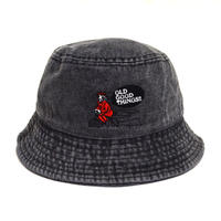 OldGoodThings BUCKET HAT (NEVER) BLK DENIM