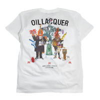 OILWORKS S/S T-SHIRTS (OIL LACQUER) WHITE