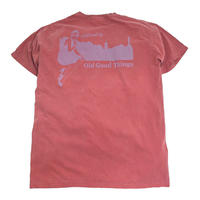 O.G.T S/S T-SHIRTS (OLD GOOD CITY) CRIMSON
