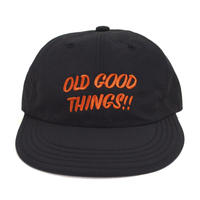 OldGoodThings 6PANEL CAP (GOOD PLAYER) BLACK