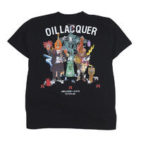 OILWORKS S/S T-SHIRTS (OIL LACQUER) BLACK