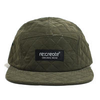 re:create (QUILTING CAP) OLIVE