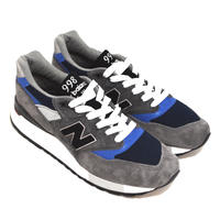 NEW BALANCE (M998 MADE IN USA) GREY/NAVY