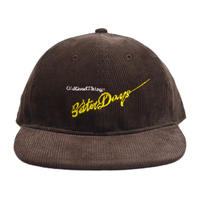 O.G.T CORDUROY 6PANEL CAP (BetterDays) D.BROWN