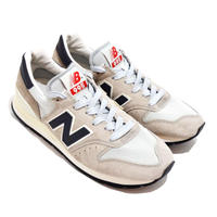 NEW BALANCE (M995 MADE IN USA)OFF WHITE/GREY