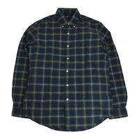 POLO RALPH LAUREN L/S CHECK SHIRTS (CLASSIC FIT) GREEN