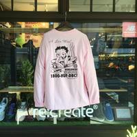 HUF L/ST-Shirts (HUF x BETTY BOOP) L.PINK