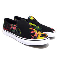 NIKE (COURT ROYALE AC SLIP SE) BLACK / FLOWER