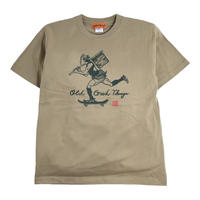 OldGoodThings S/S T-SHIRTS (OLD&NEW) SAND KHAKI