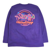 OldGoodThings L/S T-SHIRTS (Sing-Neon) PURPLE