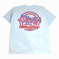 OldGoodThings S/S T-SHIRTS (Sing-Neon) L.BLUE