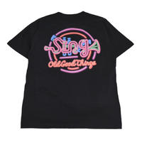 OldGoodThings S/S T-SHIRTS (Sing-Neon) BLACK