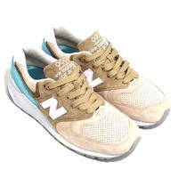 NEW BALANCE (M999 MADE IN USA) BROWN/TEAL