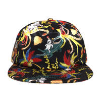 RIPNDIP 5PANEL CAP (LA MARCH) BLACK