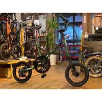 ★店頭在庫あり★  OX bikes PECO pocci  【オリーブグリーンメタリック】 ハードサスペンション仕様