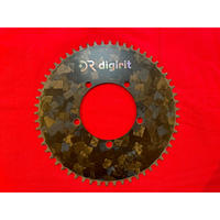 digirit Carbon Chainring 58T 【PCD110】 Marble