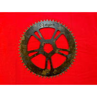 digirit Carbon Chainring 58T 【ee Wings】Marble