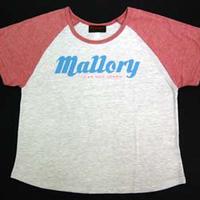 Mallory Lady's ラグラン ビッグ Tシャツ