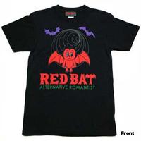 『RED BAT』のロゴTシャツ