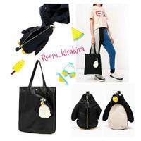 Aニヤst,ペンギンショッパーバッグ