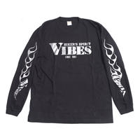 VIBES 長袖Tシャツ(ロゴ)